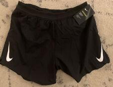 "Nike Aeroswift Running Racing Shorts 5"" Black AQ5302-010 Mens Size Large L"