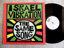 Israel Vibration – The Same Song Label: Pressure Sounds - -  LP reggae