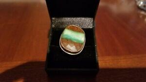 Jamie Joseph chrysoprase ring, size 6.5