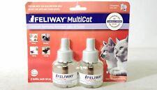 New listing Feliway MultiCat Constant Harmony Cats At Home Diffuser Refill Exp 06 2021
