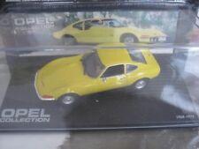Opel GT jaune 1/43 ixo neuve
