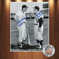 Stan Musial Yogi Berra Autographed Signed 8x10 Photo Premium quality REPRINT