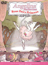 Angelina Ballerina - Rose Fairy Princess DVD Great Girls Movie! Family Fun! XX