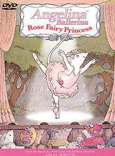 ANGELINA BALLERINA - ROSE FAIRY PRINCESS rare Family Kids Animated dvd NEW
