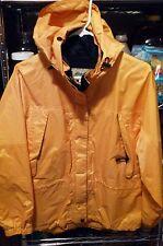 Vintag Eddie Bauer Womens Hooded Rain Jacket Size M Petite Gortex