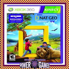 Nat Geo TV Xbox 360 Kinect America The Wild
