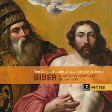 Biber / Ton Koopman - Missa Salisburgensis, Requiem a 15 [New CD]
