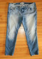 Torrid Jeans Boyfriend Light Stone Wash Blue Stretch Denim Womens Plus Size 18R