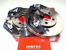 NEW MINTEX FRONT BRAKE DISC AND PADS SET FOR AUDI A1 A2 A3 MDK0152