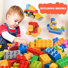 1000PCS Plastic Lego Building Bricks Children Kid Educational Toy Bulk Block NEW