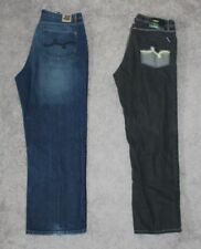 (2) LRG Jeans Lot Men's 38x33 Blue Black Lifted Research Group Denim 38 Street