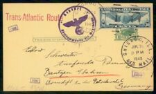 Mayfairstamps US 1940 Chicago July 30 Censored uprated Stationery Card to German