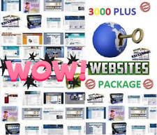 *BEST DEAL* 3000 plus Turnkey website scripts PACKAGE New