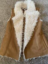 New ListingWomens Bb Dakota Steve Madden Dark Camel Vest Size Small
