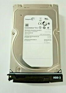 "Seagate 3TB 3.5"" Hard Drive ST33000650NS 3G Sata 7.2K  9SM160-001 + QNAP CADDY"
