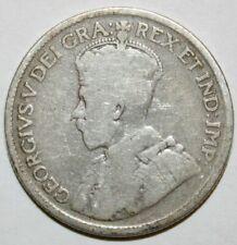CANADA 1929 25 CENTS QUARTER KING GEORGE V