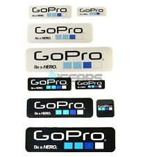 Cool GoPro DIY Sticker Self Adhesive Stickers HD HERO Icon Sticker 9 Pcs/lot
