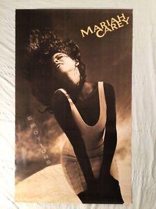 Mariah Carey Huge 1991 Promo Poster Emotions
