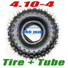 4.10-4 Inch Tyre & Tube For Mini Quad ATV Go Kart Buggy Dirt Bike