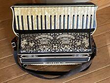 Vintage Morelli Piano Accordion Scandalli Style Italy Bakelite