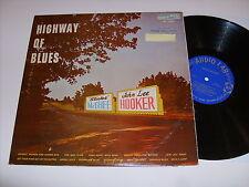 "STICKS McGHEE JOHN LEE HOOKER ""HIGHWAY OF BLUES"" AUDIO LAB AL-1520 EX 1959 BLUES"