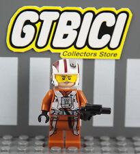 LEGO STAR WARS  MINIFIGURA  `` RESISTANCE X-WING PILOT ´´  Ref 75102