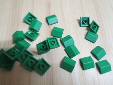 Lego 25 x Dachziegel Schrägstein 54200 dunkelgrün 1x1