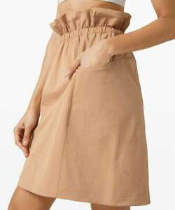 Choose Size NWT Lululemon Trip Taker Skirt BCHW Beech Wood Size 4, 6, 8, 10