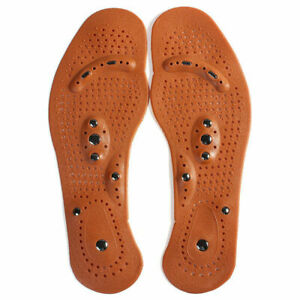 Acupressure Magnetic Massage Weight Loss Therapy Insoles C5Y2