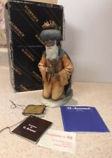 Giuseppe Armani Nativity Magi King Incense Capodimonte Italy Florence Mib W/ Tag