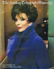 JOAN COLLINS - Vintage SUNDAY TELEGRAPH MAGAZINE May 1999 C#73/46