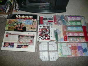 SHOGUN board game vintage MB GAMEMASTER SERIES ADVENTURE GAME Samurai Swords