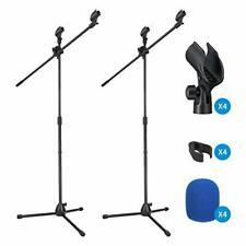 Mikrofonständer Mikrofonhalterung Moukey MMs-3  Höheverstellbar Musik Equipment