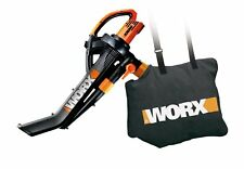 WORX WG505 Electric TriVac Blower/Mulcher/Vacuum All-Metal Mulching System