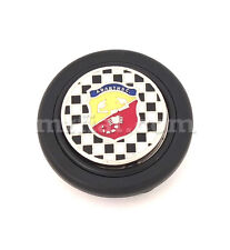 Fiat 500 600 Abarth Checkered Horn Button Type 2 New