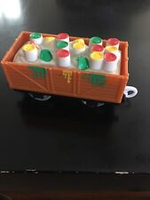 2009 Thomas The Tank Engine Trackmaster Messy Paint Can Cargo & Train Car