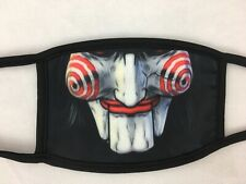 Clown Jigsaw Mask 3D Print 2 Layer Face Mask Reusable Washable Cover Soft Cloth
