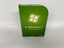 New ListingMicrosoft Windows 7 Home Premium 64 bit full retail version with Dvd, license