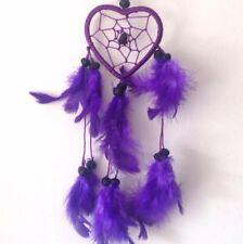 Purple Heart Colour Dream Catcher Home Decor & Kids Room Wall Hanging