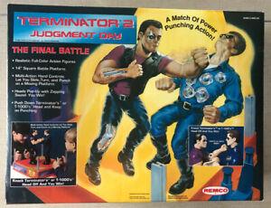 Terminator 2 Judgement Day FINAL BATTLE Rock'em Sock'em Robots Mint in Great Box