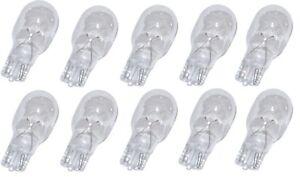 10 Pack 4 Watt Wedge Base 12V Light Bulbs for Malibu