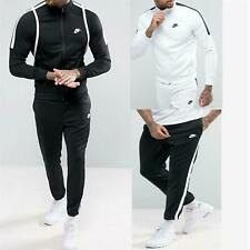 Nike TRIBUTE Mens Full Polyester Tracksuit Jogging Bottoms Joggers Zip Up Jacket