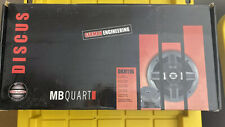"""MB Quart 2 Car Speakers Brand New 6.5"""" 2-way Coaxial System DKH116"""