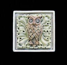 Owl Harry Potter Arts And Crafts Gothic Ellison Tile