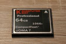 Komputerbay 64GB Professional Compact Flash 1066X UDMA 7 RAW - Rücknahme möglich