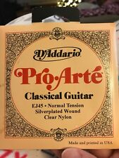 D'Addario Ej45 Pro Arte Classical Strings Normal Tension Guitar Strings (Mb)
