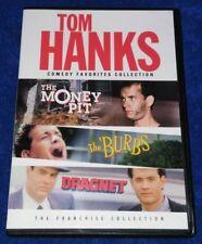 Tom Hanks: The Money Pit / The Burbs / Dragnet (DVD Disc Set)