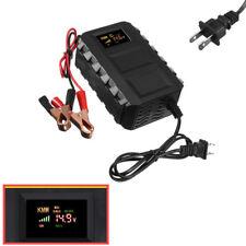 Smart 12V 20A SUV Car Acid Battery Charger Battery Lead Cable Clip AC 110V-240V