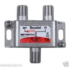 ECONOMICO MEZCLADOR TV + SAT(PARABOLICA + TV) DE 5 A 2400 MHz. - Envio de España