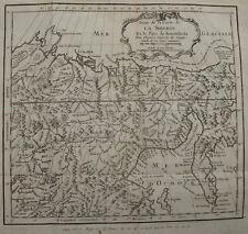 CARTE DE LA SIBERIE ET PAYS DE KAMTSCHATKA , EXTREME ORIENT RUSSE ,1768
